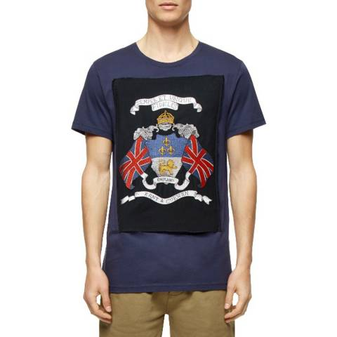 Kent & Curwen Blue Jack Cotton T-Shirt