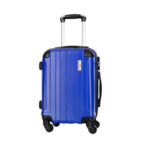 Platinium Blue Delos 4 Wheeled Suitcase 60cm