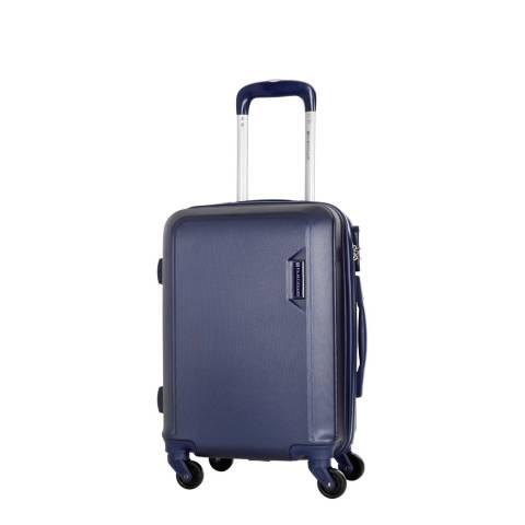 Platinium Mainre Blue Buccia 4 Wheeled Suitcases 50cm