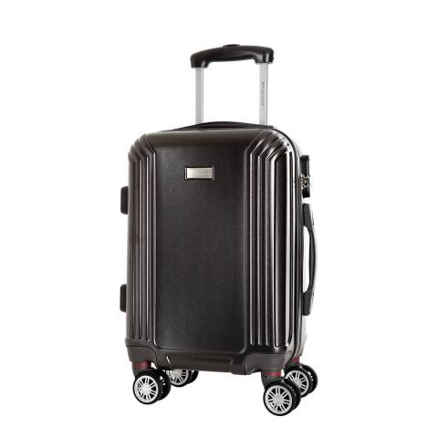 Platinium Grey Kirwee 8 Wheeled Suitcases Medium 56cm