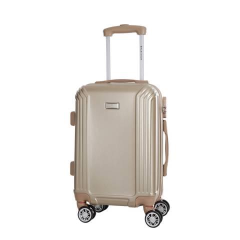 Platinium Beige Kirwee 8 Wheeled Suitcase 56cm