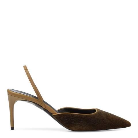 Stella McCartney Khaki/Olive Porter Heels