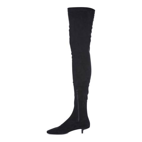 Stella McCartney Black Foster Over The Knee Boots