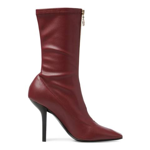 Stella McCartney Bordeaux Palmer Ankle Boots