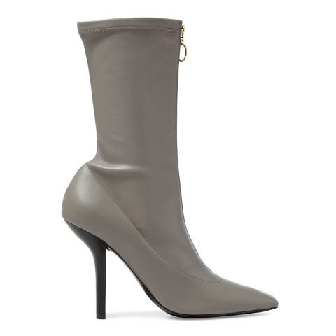 Stella McCartney Fog Grey Palmer Ankle Boots