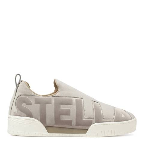 Stella McCartney Light Grey Suede Vaal Sneakers
