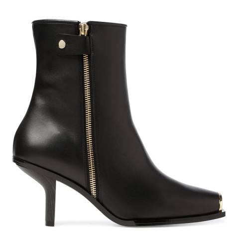 Stella McCartney Black Patrick Square Toe Ankle Boots
