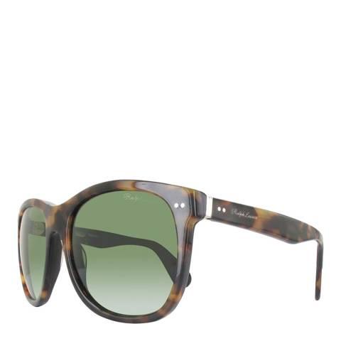 Ralph Lauren Havana/Green Women's Ralph Lauren Sunglasses