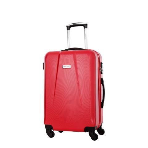 Travel One Red Pandara 4 Wheeled Suitcase