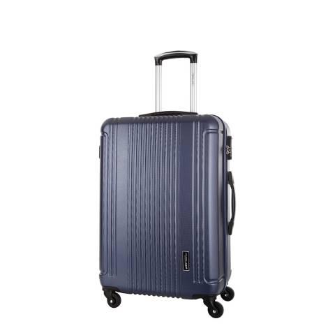 Travel One Navy Barton 4 Wheeled Suitcase 50cm