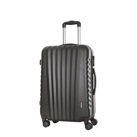 Travel One Grey 8 Wheel Suitcase 50cm