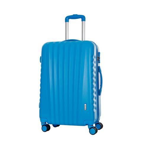 Travel One Blue Hills 8 Wheeled Suitcase 60cm
