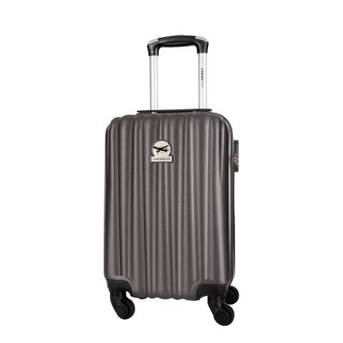 Travel One Grey Bright 4 Wheeled Cabin Suitcase 46cm
