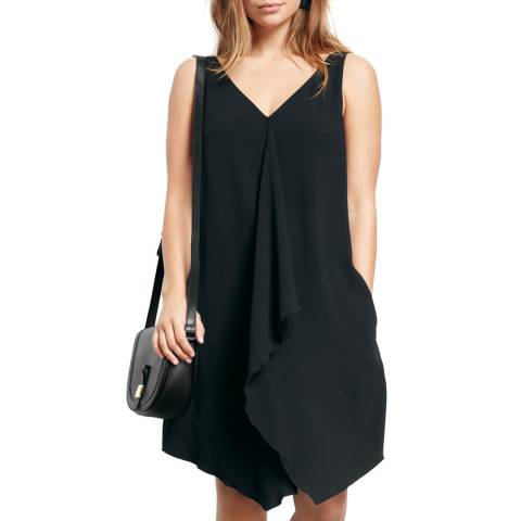 Hush Black Delilah Frill Dress