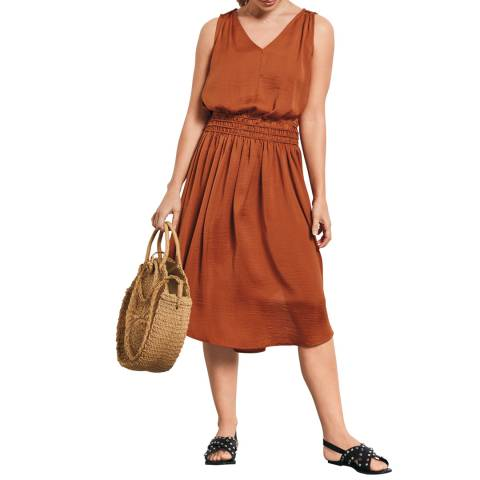 hush Copper Cerys Dress