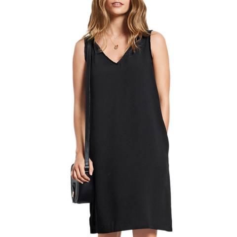 Hush Black Delilah Fringe  Dress