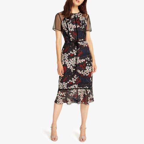 Phase Eight Multi Floral Maylin Dress