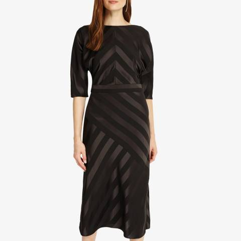 Phase Eight Black Avaline Tie Back Dress