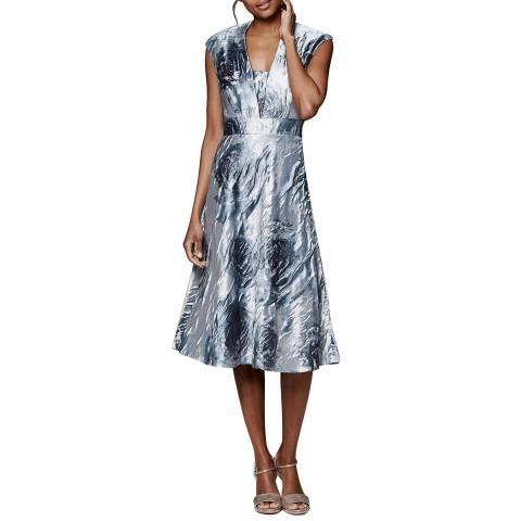 Phase Eight Grey/Multi Honey Rose Dress