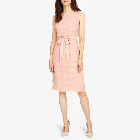 Phase Eight Pink Gaselle Layer Dress