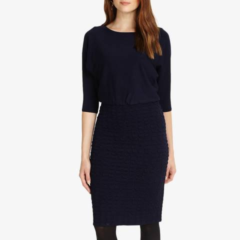 Phase Eight Dark Navy Adele Knit Dress
