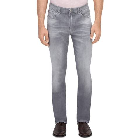 7 For All Mankind Grey Weightless Stretch Slim Jeans