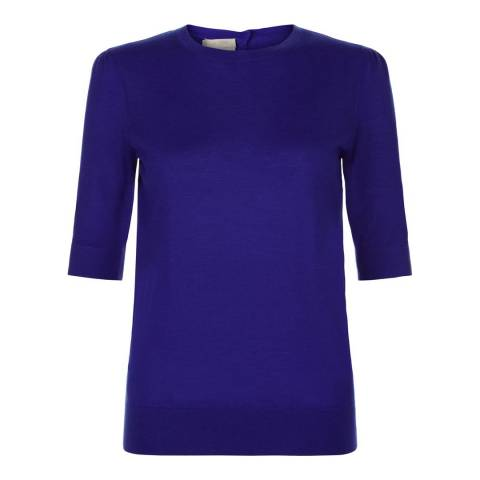 Hobbs London Royal Blue Cashmere Jumper