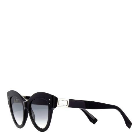 Fendi Women's Black Fendi Cat Eye Sunglasses 52mm