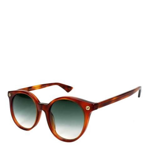 Gucci Unisex Brown Sunglasses 51mm