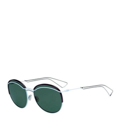Christian Dior Women's Christian Dior Light Blue / Grey Green Sunglasses 57mm
