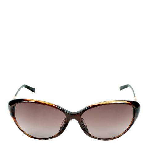 Christian Dior Women's Christian Dior Havana Horn / Brown Gradient Sunglasses