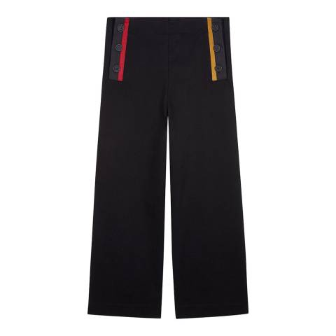 Chinti and Parker Black Sailor Cotton Bottoms