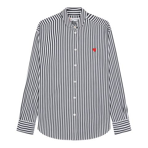 Chinti and Parker Black/White Easy Fit Shirt