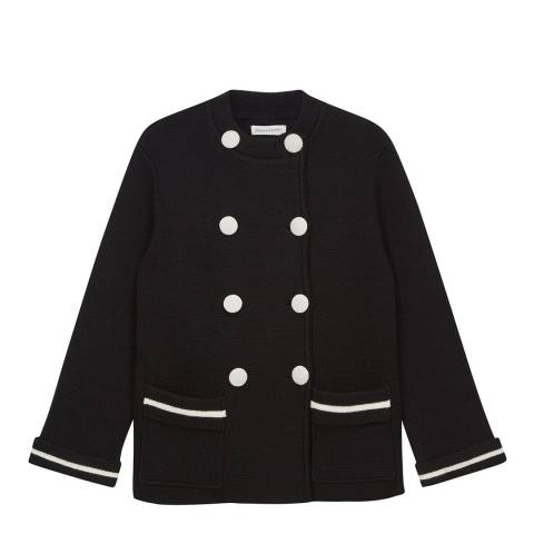 Chinti and Parker Black/Cream Milano Jacket