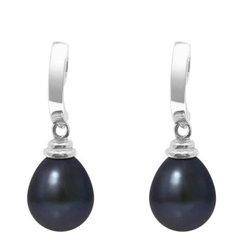 Mitzuko Black Tahiti Pearl Earrings