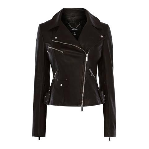 Karen Millen Black Black Leather Jacket