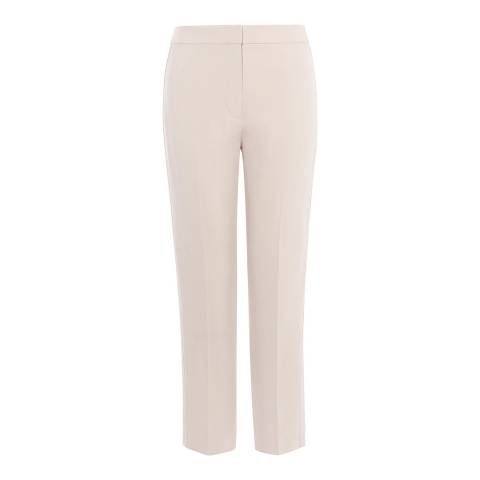 Karen Millen Neutral Tailored Trousers