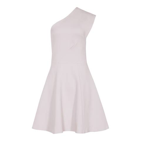 Reiss Warm Grey Keria Dress