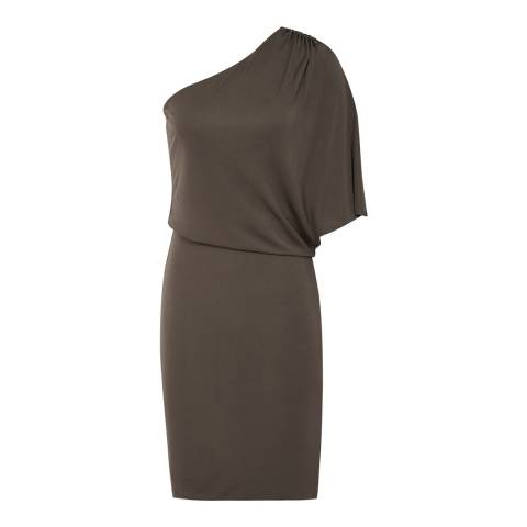 Reiss Green Addison Dress