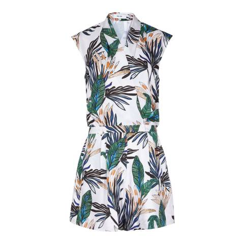 Reiss Multi Bette Printed Playsuit