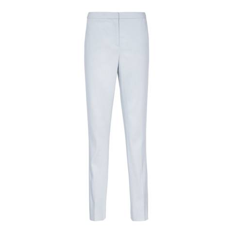 Reiss Light Blue Harloe Tailored Trousers