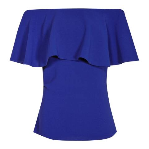 Reiss Sapphire Balmer Off The Shoulder Top