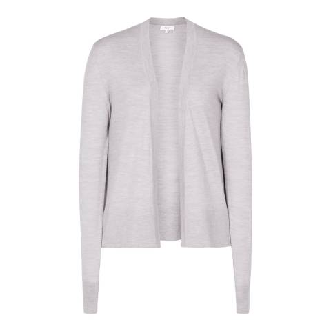 Reiss Grey Rudy Merino Cardigan