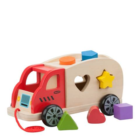 New Classic Toys Shape Sorter Truck Toy