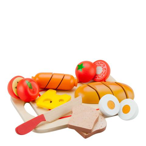 New Classic Toys Breakfast Cutting Meal Playset