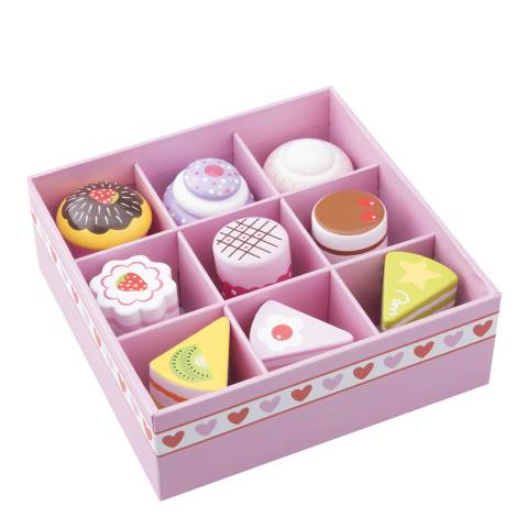 New Classic Toys 9 Piece Cake & Pastry Assortment In Giftbox