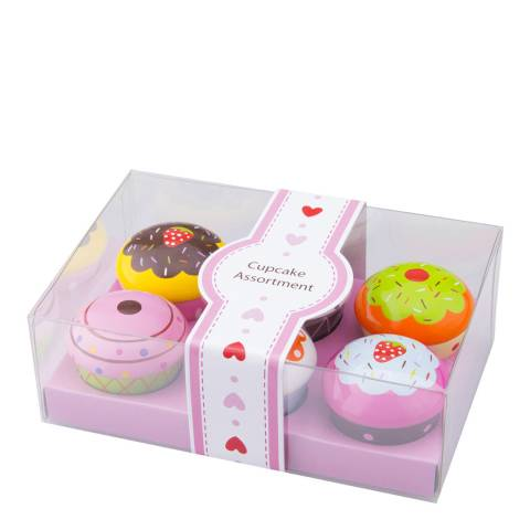 New Classic Toys Cupcake Assortment Playset In Giftbox