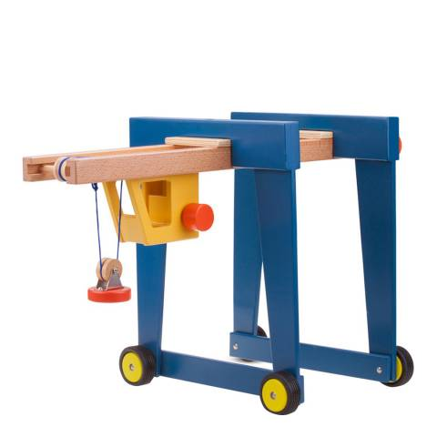 New Classic Toys Container Crane On Wheels Toy