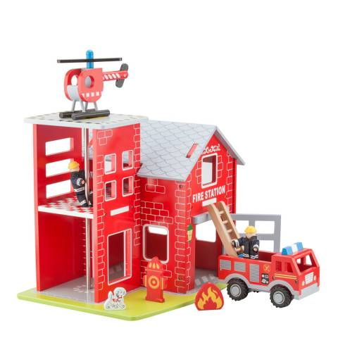 New Classic Toys Fire Station Playset