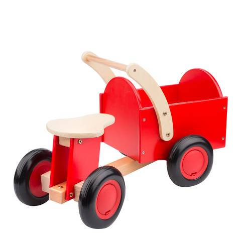 New Classic Toys Red Carrier Bike